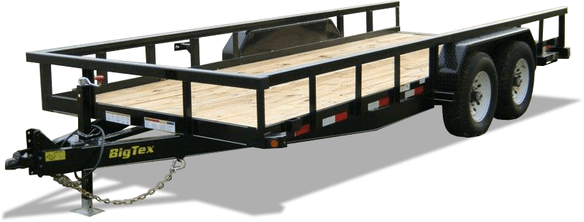 14pi heavy duty equipment trailer big tex yanmar. Black Bedroom Furniture Sets. Home Design Ideas