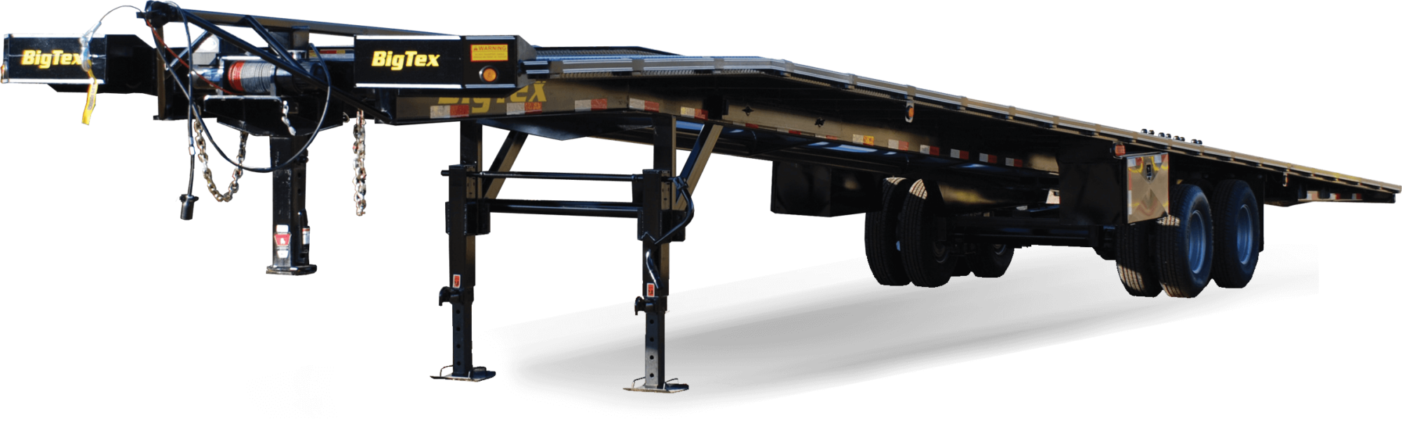 The 20AC Big Tex Gooseneck Auto Trailer is a Tandem Dual Gooseneck  Auto/Combo Transport from Big Tex Trailers. It is the best solution for  auto and trailer ...